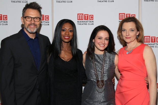 Tim Daly, Rachael Holmes, Roxanna Hope, and Orlagh Cassidy star in The Ruins of Civilization.