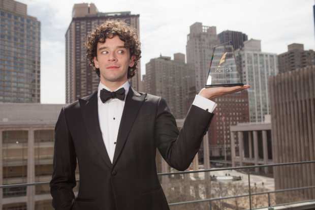 Michael Urie hosts the Drama Desk Awards tonight, June 5.