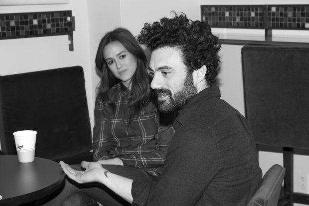 Heather Lind and Morgan Spector from the cast of Incognito.