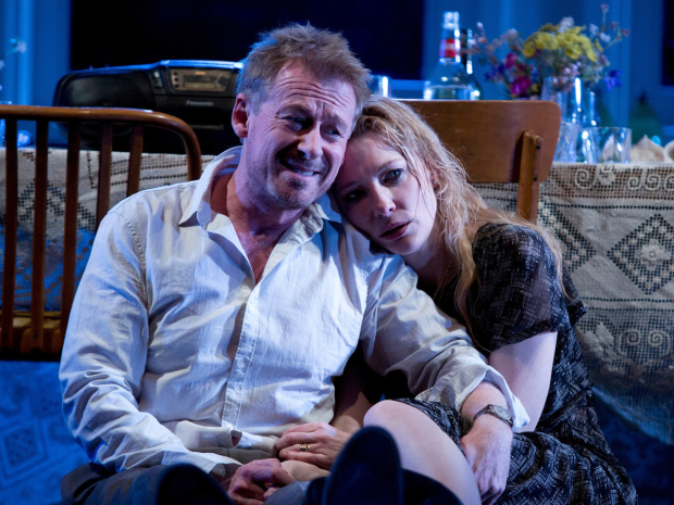 Richard Roxburgh and Cate Blanchett in the Sydney Theatre Company production of The Present.