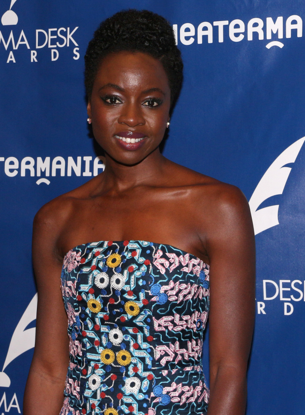 Playwright Danai Gurira won the 2016 Sam Norkin Award for her plays Eclipsed and Familiar.