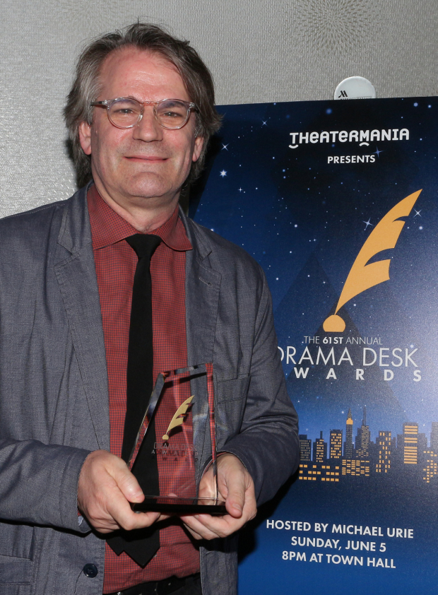 Bartlett Sher won the 2016 Drama Desk Award for Outstanding Director of a Musical for the revival of Fiddler on the Roof.