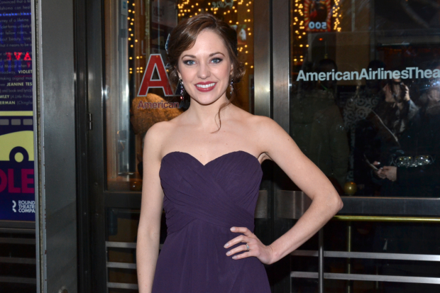 Laura Osnes will interview Broadway stars backstage at the Beacon Theatre for the Tony Awards Live Stream.