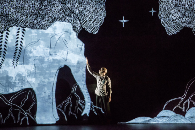 A scene from Akram Khan Company's Chotto Desh, making its New York premiere at the New Victory Theater.