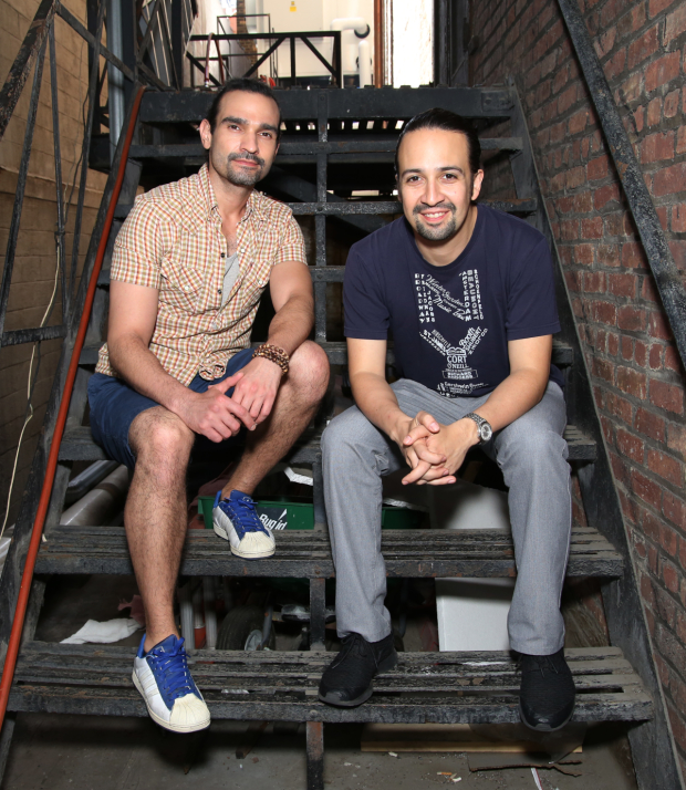 Javier Muñoz assumes the title role in Lin-Manuel Miranda's Hamilton, following Miranda's departure.