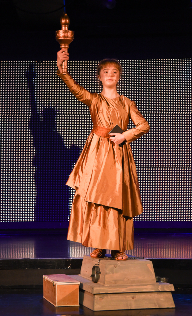 Abigail Shapiro takes on the title role in Liberty, a Monumental New Musical.