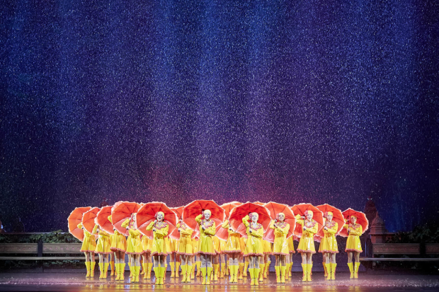The Rockettes take center stage in New York Spectacular at Radio City Music Hall.