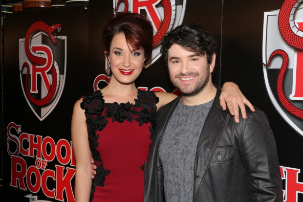 School of Rock stars Sierra Boggess and Alex Brightman will emcee one of the 2016 Broadway in Bryant Park concerts.