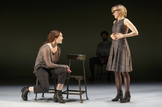 Heather Lind and Geneva Carr as Patricia and Martha in a scene from Incognito.