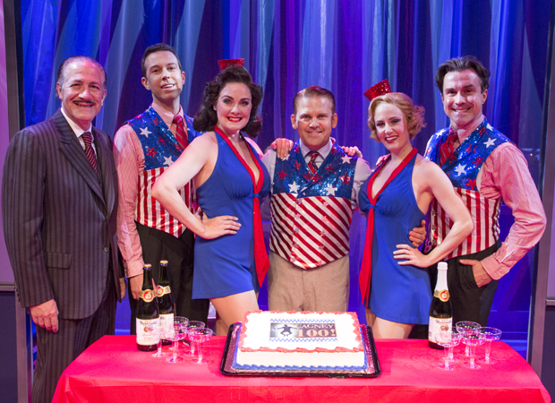 Happy 100th performance to the cast of Cagney!