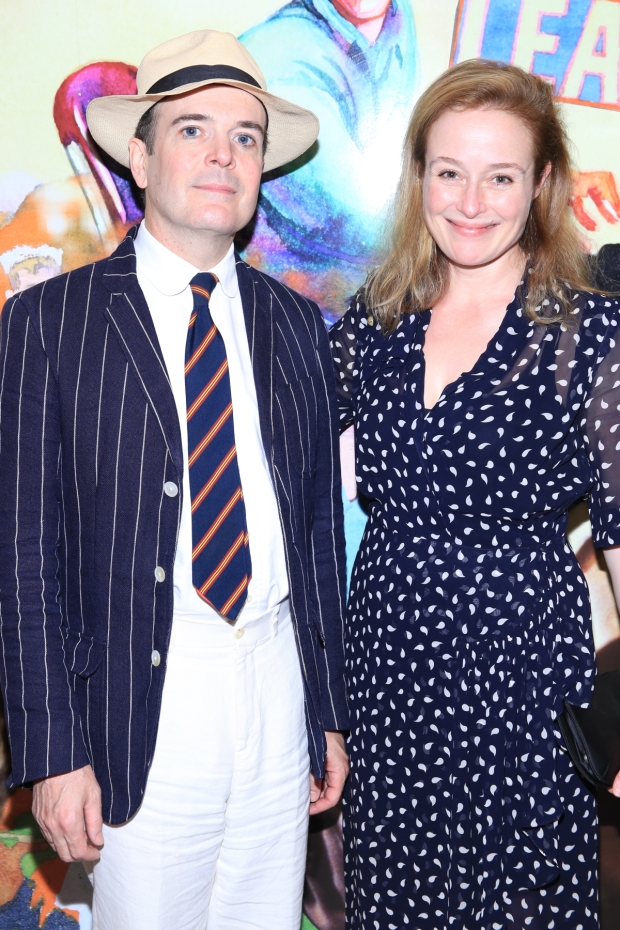 Jefferson Mays and Jennifer Ehle star in Oslo by J.T. Rogers.