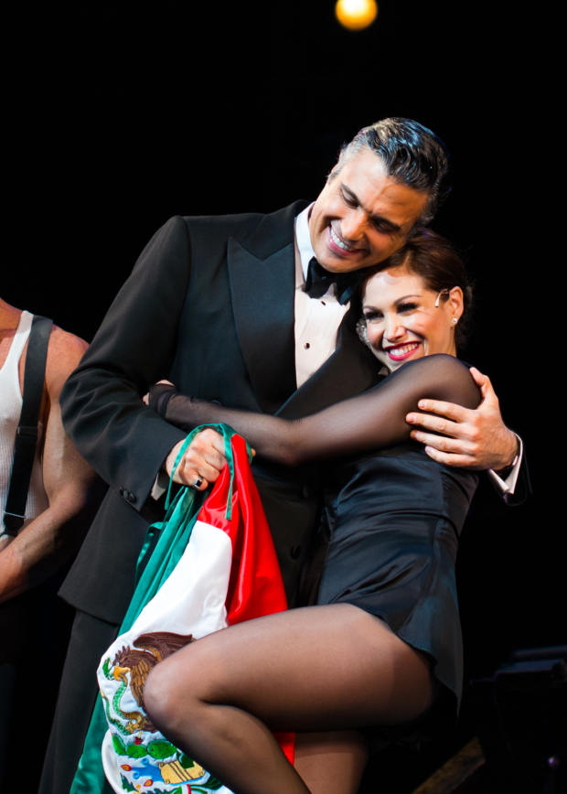 Chicago stars Jaime Camil and Bianca Marroquín become the first two Mexican-born performers to take on leading roles in a Broadway show.