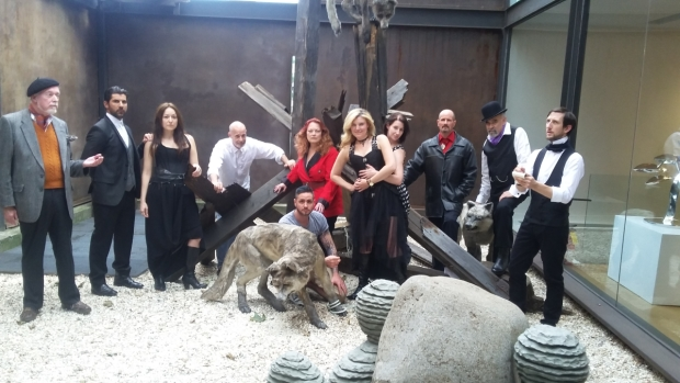 The cast of Hamlet: An Exploration, which runs through July 24.