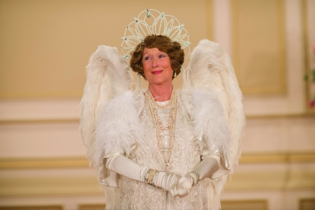 Meryl Streep as the title character in Florence Foster Jenkins.