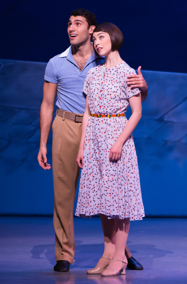 Dimitri Kleioris and Leanne Cope head the current cast of Broadway's An American in Paris.