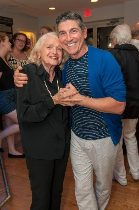 Edie Windsor and James Lecesne celebrate The Absolute Brightness of Leonard Pelkey.
