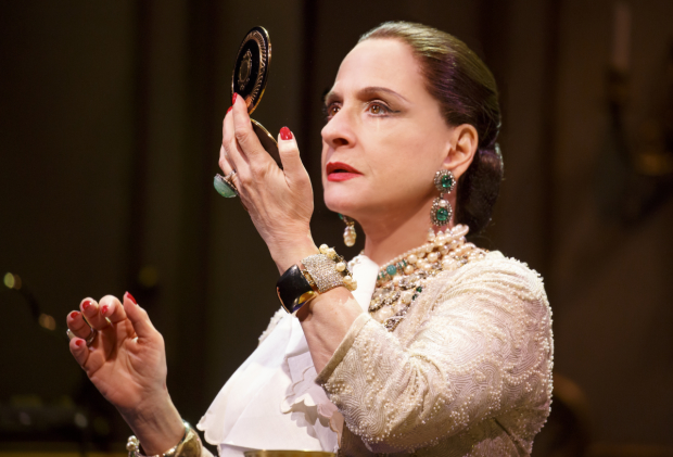 Patti LuPone as Helena Rubinstein in War Paint, directed by Michael Greif, at the Goodman Theatre.