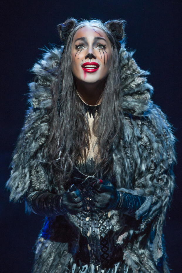 Leona Lewis plays Grizabella in the new Broadway revival of Cats.