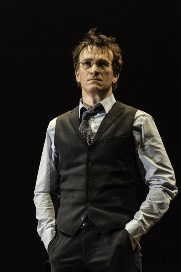 Jamie Parker stars as Harry Potter in the new play Harry Potter and the Cursed Child.