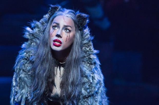 Leona Lewis stars as Grizabella in Cats.
