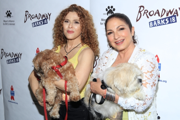 Bernadette Peters and Gloria Estefan host the 2016 edition of Broadway Barks.