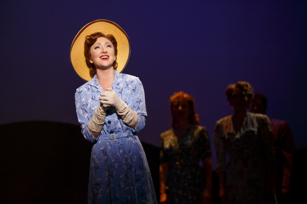 Carmen Cusack in her Tony-nominated role as Alice Murphy in Steve Martin and Edie Brickell's Bright Star.