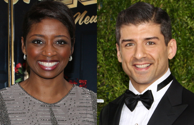 Montego Glover and Tony Yazbeck will perform with The New York Pops at Feinstein's/54 Below.