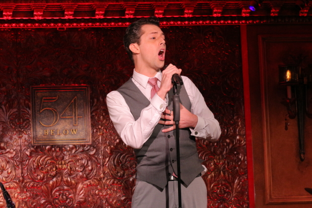 Something Rotten! star Josh Grisetti joins the fifth edition of Broadway Stories at Feinstein's/54 Below.