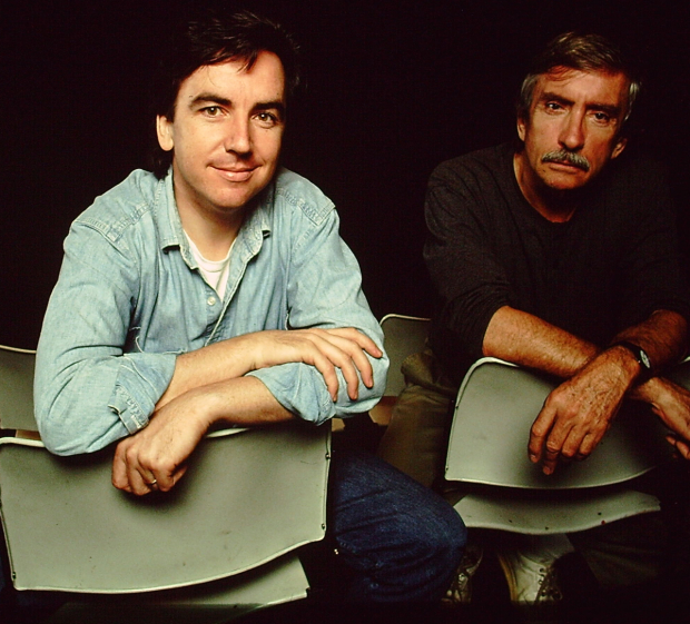 James Houghton and Edward Albee in 1993. Albee's Marriage Play was produced at Signature in October of that year.