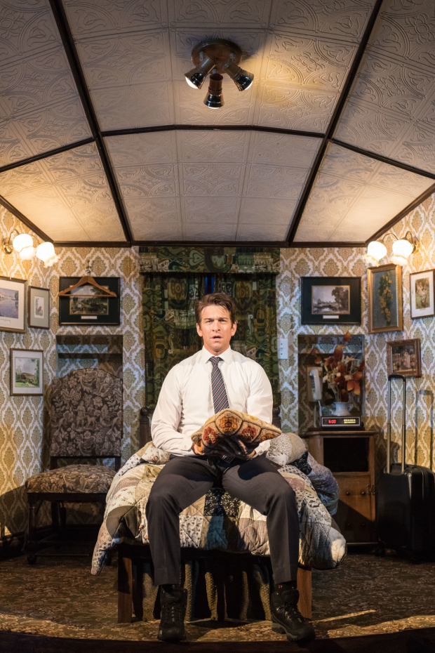 Andy Karl heads the cast of Groundhog Day at London's Old Vic Theatre.