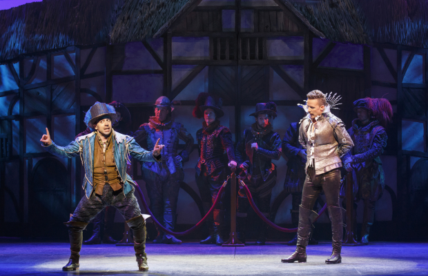 Rob McClure and Will Chase lead the cast of Broadway's Something Rotten!