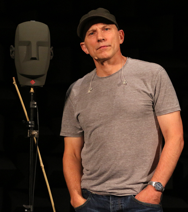 simon mcburney encounter
