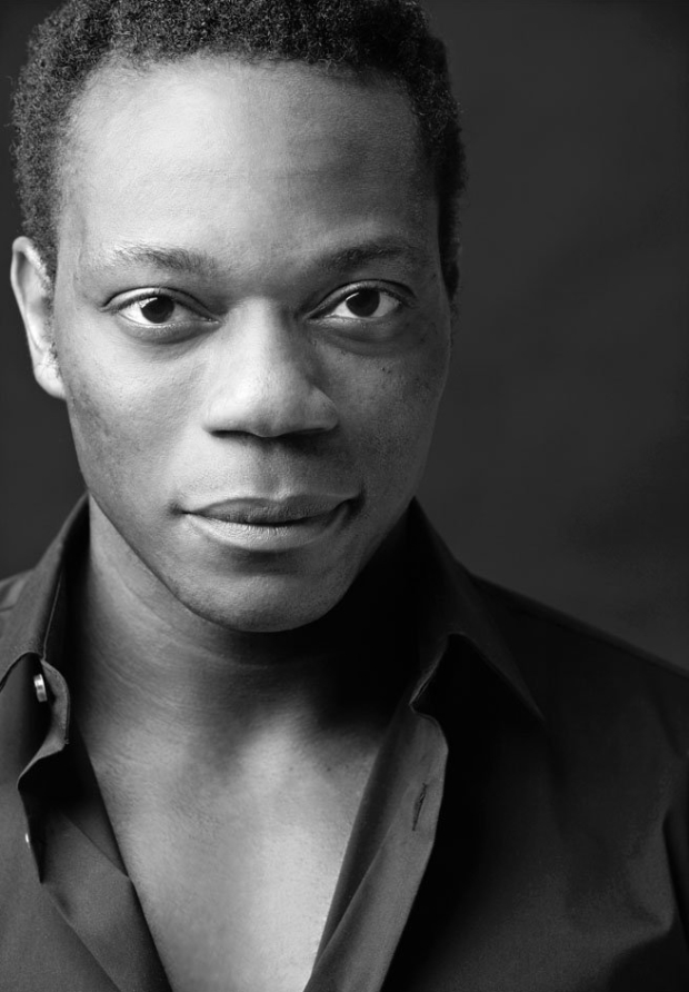 Chukwudi Iwuji plays the title character in the Mobile Unit's Hamlet.