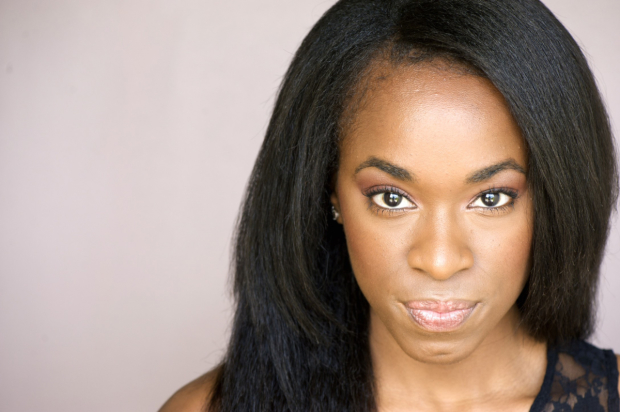 Kristolyn Lloyd plays Ophelia in the Mobile Unit's Hamlet.