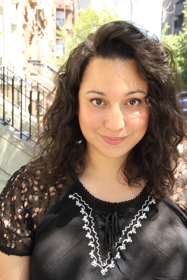 Natalie Woolams-Torres plays Rosencrantz in the Mobile Unit's Hamlet.