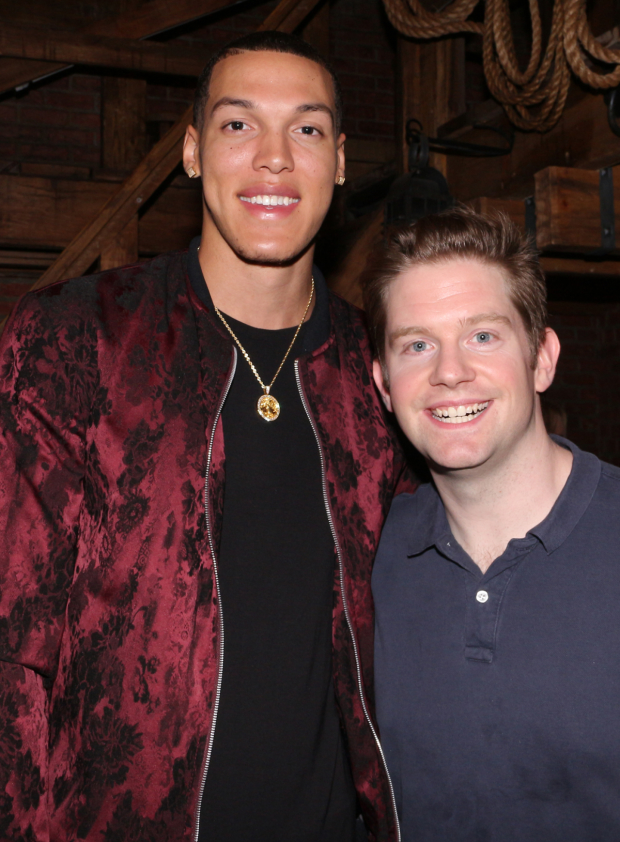 Rory O'Malley welcomes Aaron Gordon of the Orlando Magic to Hamilton.
