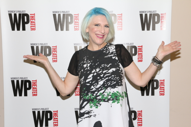 Comedian Lisa Lampanelli makes her playwriting debut with the WP Theater production of Stuffed.