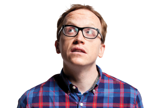 Chris Gethard brings his new solo show, Career Suicide to the Lynn Redgrave Theater.