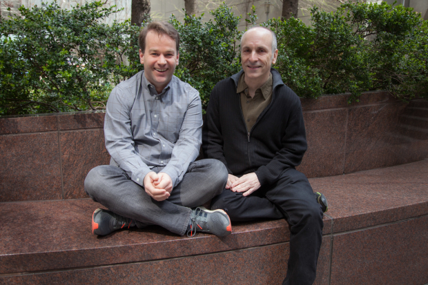 Writer/performer Mike Birbiglia collaborates with director Seth Barrish on his solo show Thank God for Jokes.