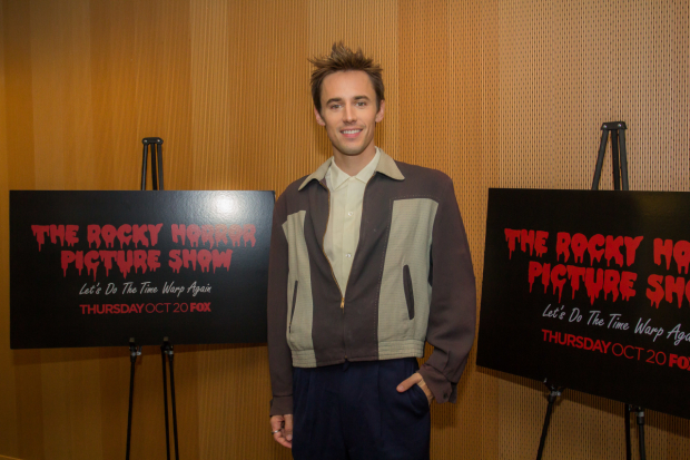 Reeve Carney is the new Rocky Horror's Riff Raff.