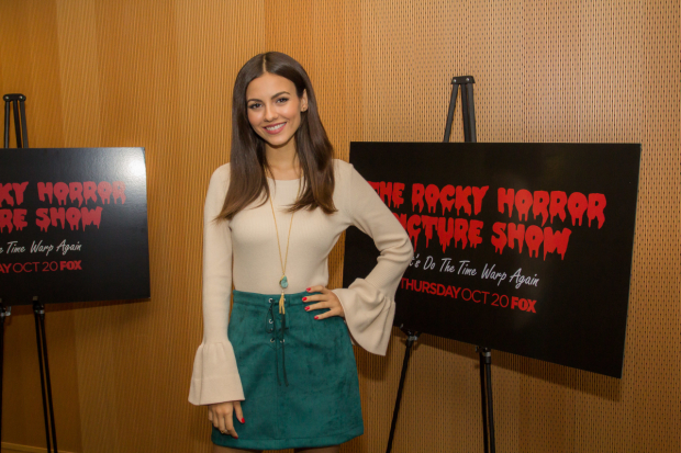 Victoria Justice takes on the role of Janet Weiss.