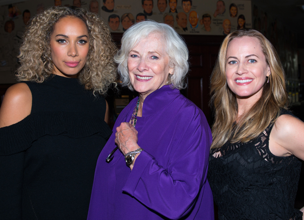 Original Broadway Grizabella Betty Buckley meets Cats revival star Leona Lewis and incoming cast member Mamie Parris.