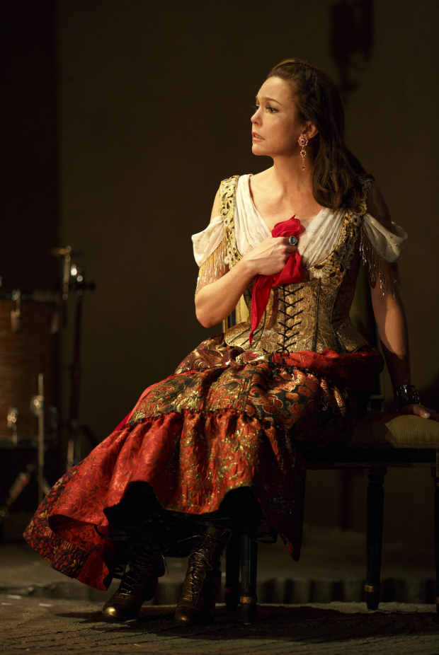 Diane Lane leads the company of The Cherry Orchard.