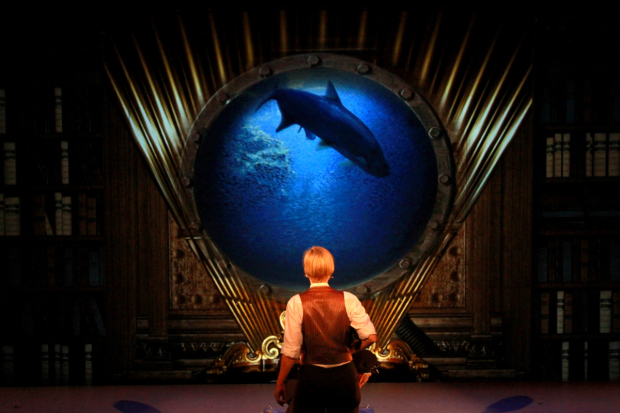 A scene from Twenty Thousand Leagues Under the Sea at the New Victory Theater.