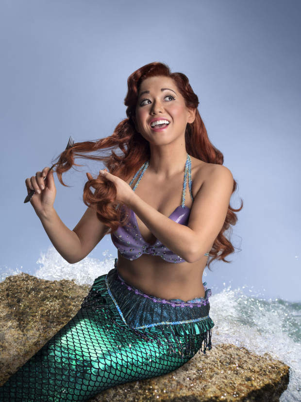 Diana Huey as 5th Avenue Theatre's Ariel.
