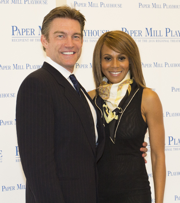 Judson Mills and Deborah Cox lead the cast of The Bodyguard at Paper Mill Playhouse.