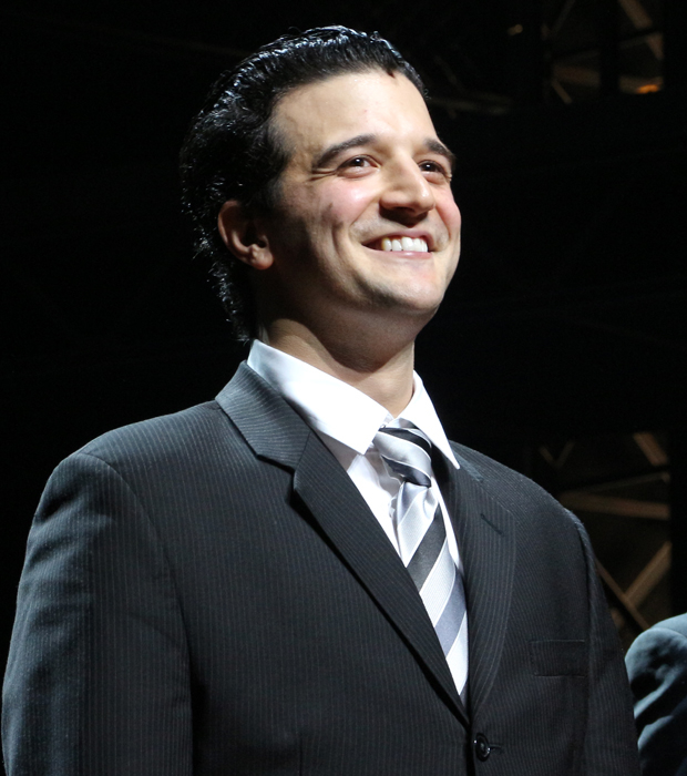 Mark Ballas makes his Broadway debut in Jersey Boys.