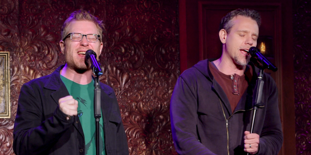 Adam Pascal and Anthony Rapp take the stage for a new concert at Feinstein's/54 Below.