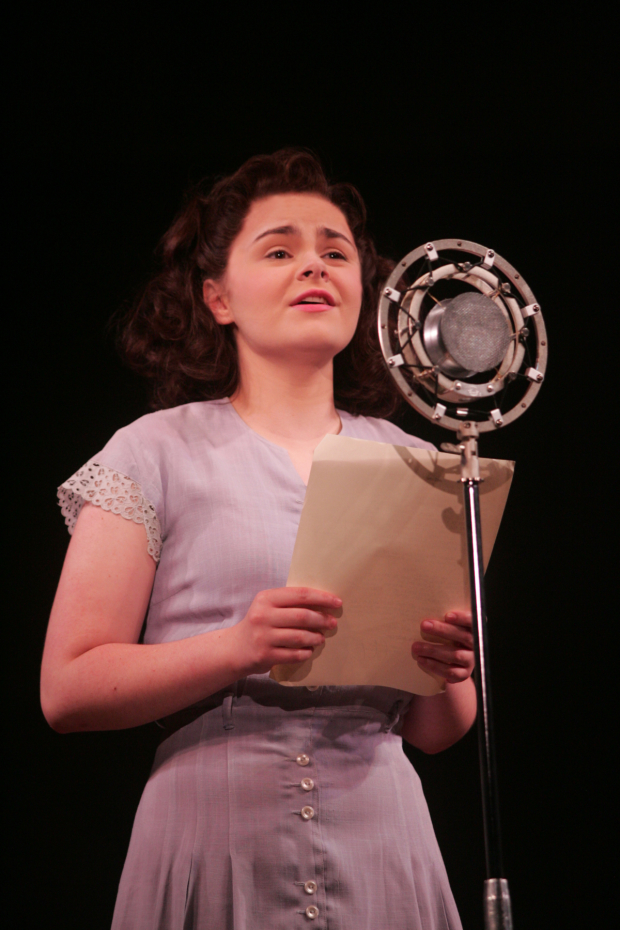 Ruby Rakos plays young Judy Garland in Chasing Rainbows - The Road to Oz at Goodspeed Musicals.
