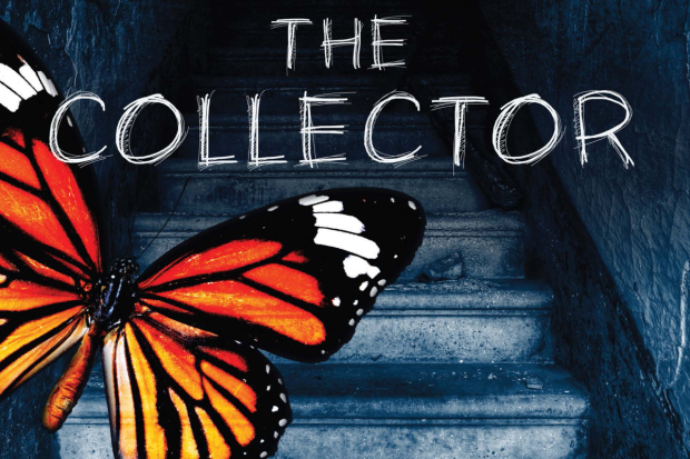 Promotional art for The Collector at 59E59.